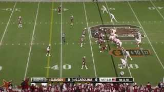 Kelcy Quarles vs Clemson (2013)