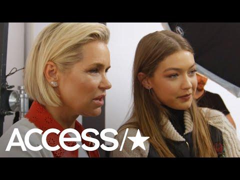 'Making A Model': Yolanda Hadid Says Gigi & Bella Will Have Important Roles This Season | Access