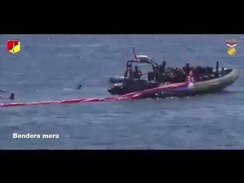 MURI: Pembentangan Bendera Terbesar di Bawah Laut