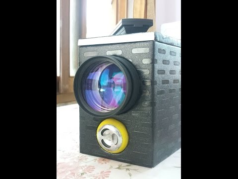 Home Made HD Multimedia Projector