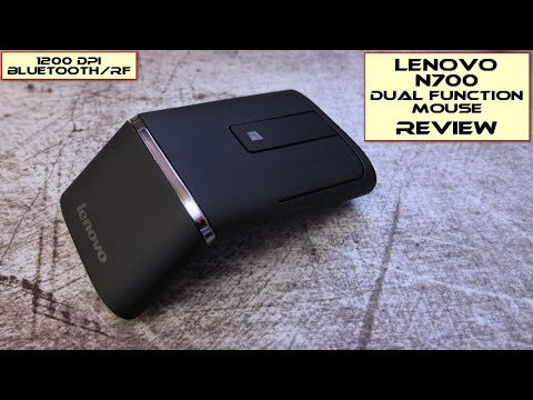 Lenovo N700 2.4GHz Bluetooth Wireless Mouse - Review