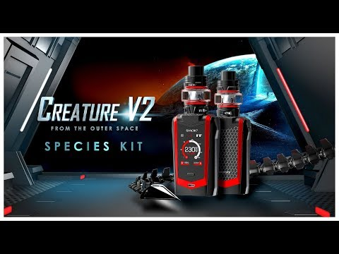 Smok Species Kit 230W Touch Screen Mod W/ TFV8 Baby V2 Tank | VapeGearNews