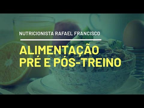 Pré-treino e Pós-treino Nutricionista Rafael