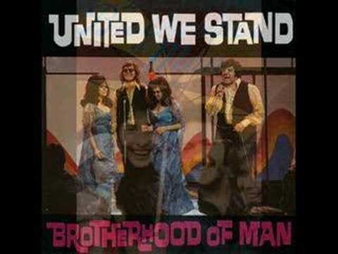 Tekst piosenki Brotherhood Of Man - United We Stand po polsku