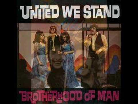 Tekst piosenki Brotherhood Of Man - United We Stand po polsku