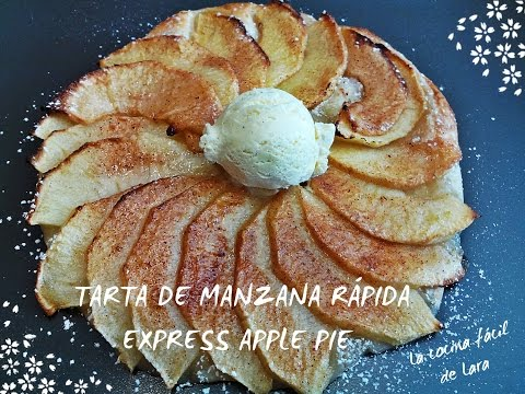 Imagen de: Tarta de manzana rápida