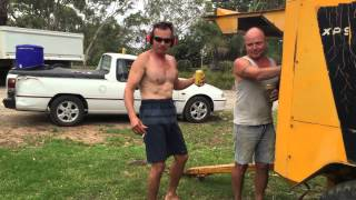 Redneck Bogan vs Industrial Aircompressor
