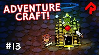 We meet another Adventure Craft boss in the golden forests, deep in the caves underground in Let's Play Adventure Craft ...