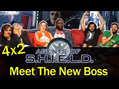 Agents of Shield - 4x2 Meet the New Boss - Group Reaction