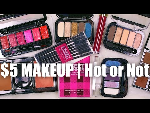 HOT OR NOT | $5 Sweet & Shimmer Cosmetics
