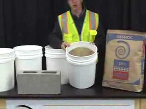 Mixing Masonry Mortar