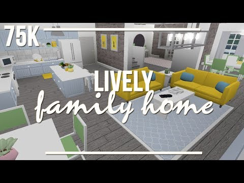 ROBLOX | Welcome to Bloxburg: Lively Family Home