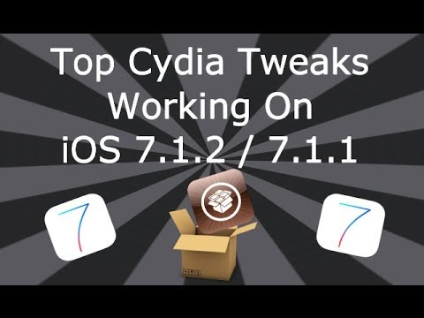 tweaks - Please Read This is my follow up video after Jailbreaking iOS 7.1.2 / 7.1.1 I have had many people asking what Cydia Tweaks I use on my devices running 7.1.2...