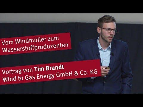 Vortrag: Vom Windmüller zum Wasserstoffproduzenten - ein Erfahrungsbericht