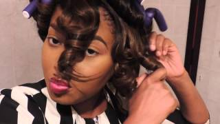 How To Curl Synthetic Wig