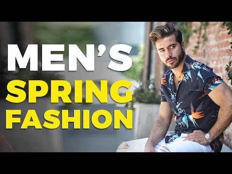 Mens hairstyles - 10 Men's Style Trends for Spring 2019  Alex Costa