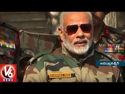 PM Narendra Modi Celebrates Diwali With Soldiers In Kashmir