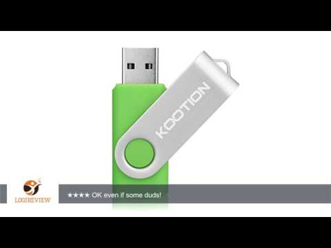 KOOTION®10pcs 2gb 2g Usb 2.0 Flash Drive Memory Stick Fold Storage Thumb Stick Pen Swivel Design