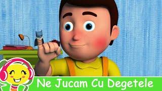 """Urmareste impreuna cu copilul tau cea mai frumoasa animatie 3D a cantecului pentru copii """"10 Degetele Jucause"""" Nou! Aplicatie..."""