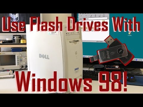 Use Flash Drives With Windows 98!