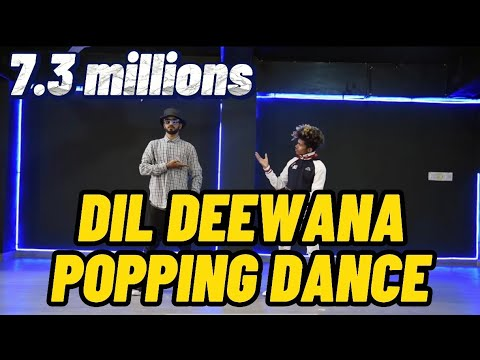 DIL DEEWANA - FREESTYLE POPPING - D BLOND CREW