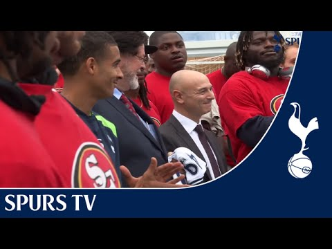 Community Magazine – 49ers jet in for Tottenham Hotspur Foundation community event