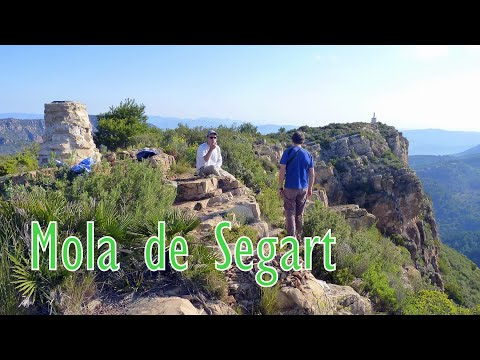 La Mola de Segart subida por la canal