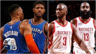 Rockets, Thunder are the only teams who can compete with the Warriors - Jalen Rose l Jalen & Jacoby