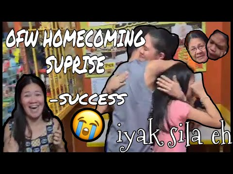 OFW SUPRISE HOMECOMING #ofw #homecoming #suprise#riyadh