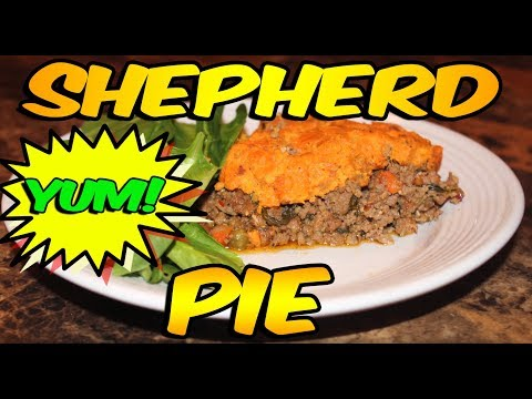 Juju's Recipes – Episode 3: JuJu's Sweet Potato Shepherd's Pie Recipe!