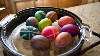 Rubber Band Easter Eggs - Let's Craft with ModernMom - YouTube
