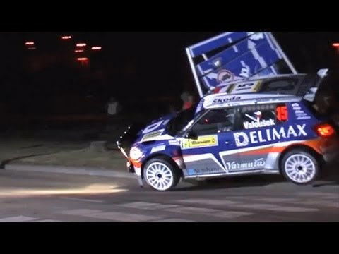 Pavel Valoušek crash - Barum Czech rally Zlin 2009