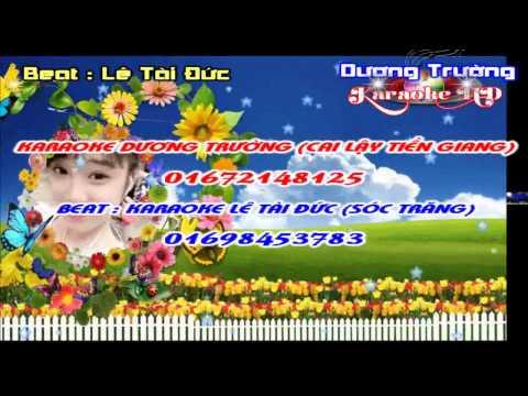 Karaoke Nhạc Sống - Giọt Lệ Đài Trang (Beat Tài Đức) Full