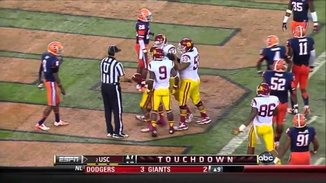 Robert Woods vs Syracuse & Arizona (2012)