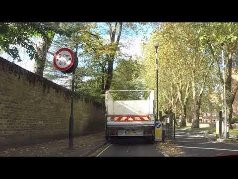 Driving in London  | Clapham Junction-Fulham  | 4k dash-cam