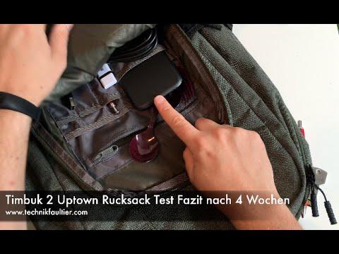 Timbuk2 Uptown Rucksack Test Fazit nach 4 Wochen