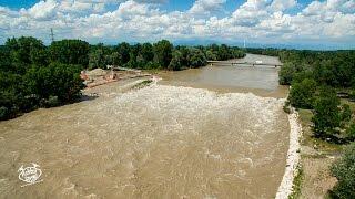 Il fiume in piena