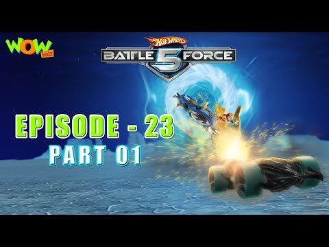 Motu Patlu presents Hot Wheels Battle Force 5 - Spinning Out - Episode 23-P1- in Hindi
