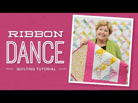 patchwork - ribbon dance quilt