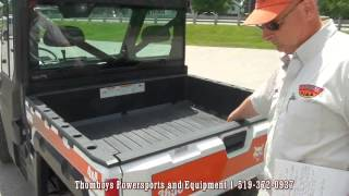 9. Thomboys bobcat 3650 utility vehicle