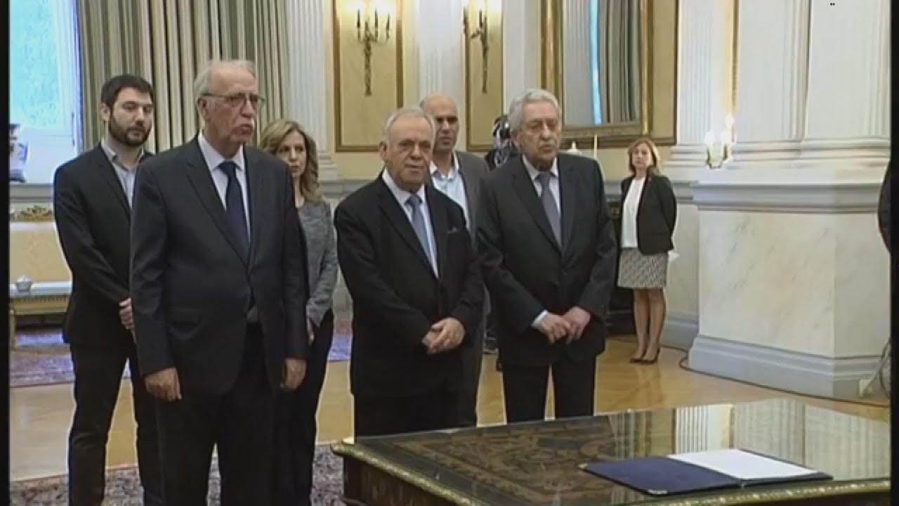 Ορκίστηκαν τα νέα μέλη της κυβέρνησης