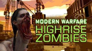 Video Custom Map Zombie #20 : La Map Highrise sur MW2 !!!!!!! MP3, 3GP, MP4, WEBM, AVI, FLV Juni 2017