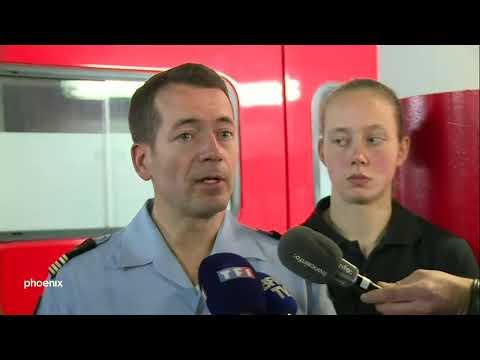 Notre-Dame: Die Pariser Feuerwehr zum Großbrand am 17.04.2019