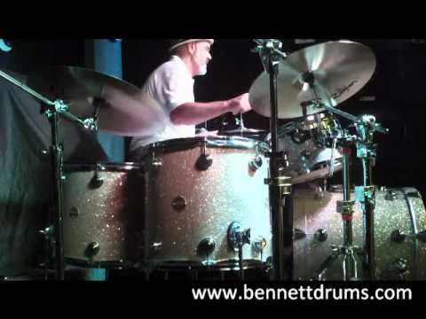 Danny Seraphine (Chicago) Drum Clinic @ Donn Bennett Drum Studio (7/28/11)