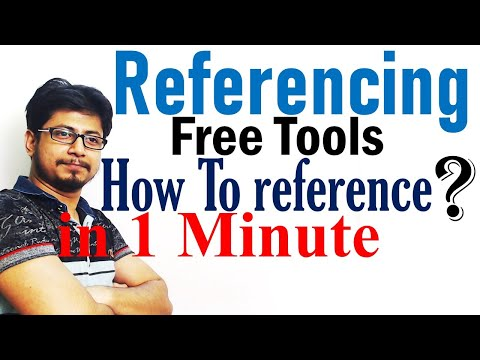 Free referencing tool online to reference in one minute   Harvard, Vancouver, MLA style, APA style