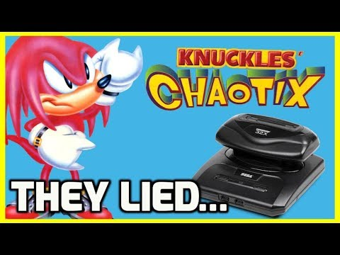 Knuckles Chaotix for Sega 32X - Is This Retro Game Worth Playing!? - THGM