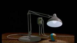 Luxo Jr. - Pixar - YouTube