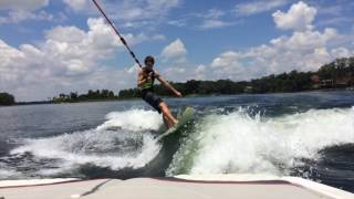 A little wakesurf edit of the groms on the new boat before I leave. When I get back expect more videos and one insane tubing edit. The boat is a 2014 malibu ...