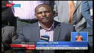 NewsDesk: 12 Killed In Fresh Morning Al Shabaab Attacks In Mandera County, 25/10/16