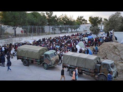 Προσωρινά ελεύθεροι οι επτά συλληφθέντες στη Μόρια